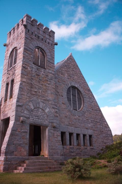 Old Stone Church  in West Boylston, Massachusetts.